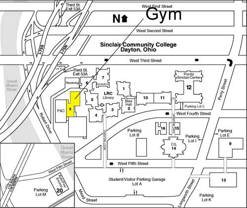 Dayton Volleyball Club   Directions to Event Sites